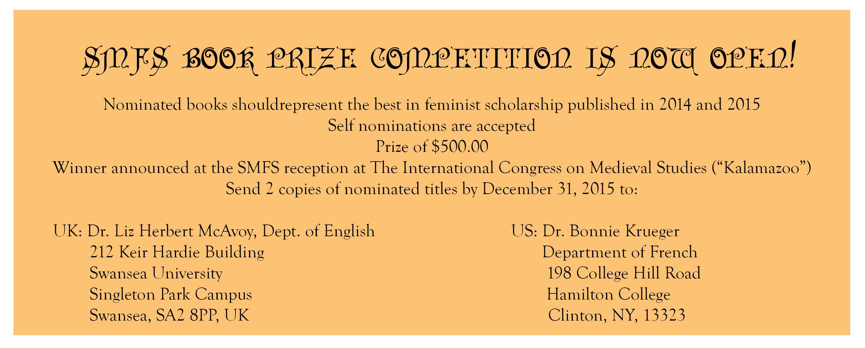 Book Prize slider